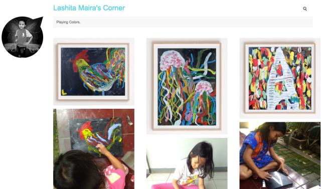Blognya Maira.